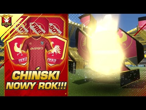DARMOWE PACZKI! 50% ZNIŻKI NA PACZKI! NOWE SBC! CHIŃSKI NOWY ROK W FIFA 17 ULTIMATE TEAM!