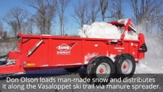 Vasaloppet USA Ski Trail Preparation 2017