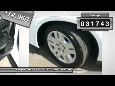 2013 Dodge Avenger Brookings Sd E4058 Youtube