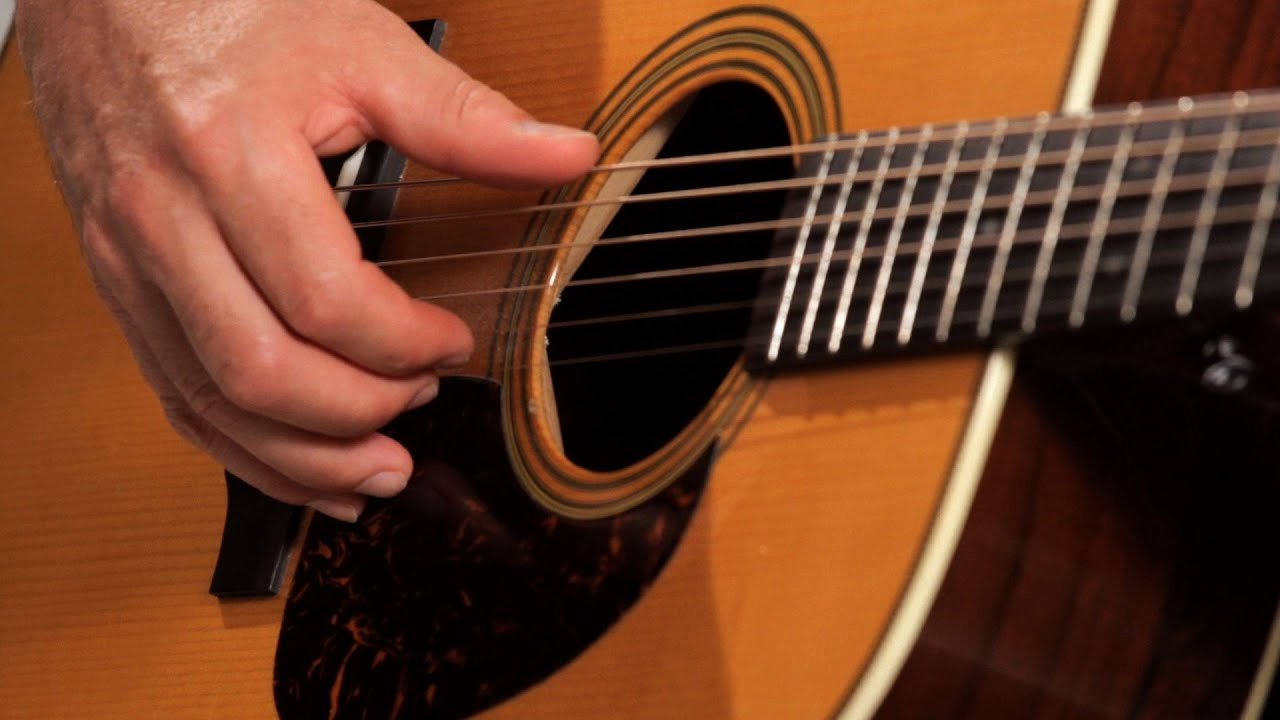 How To Play Basic Fingerpicking Style Country Guitar