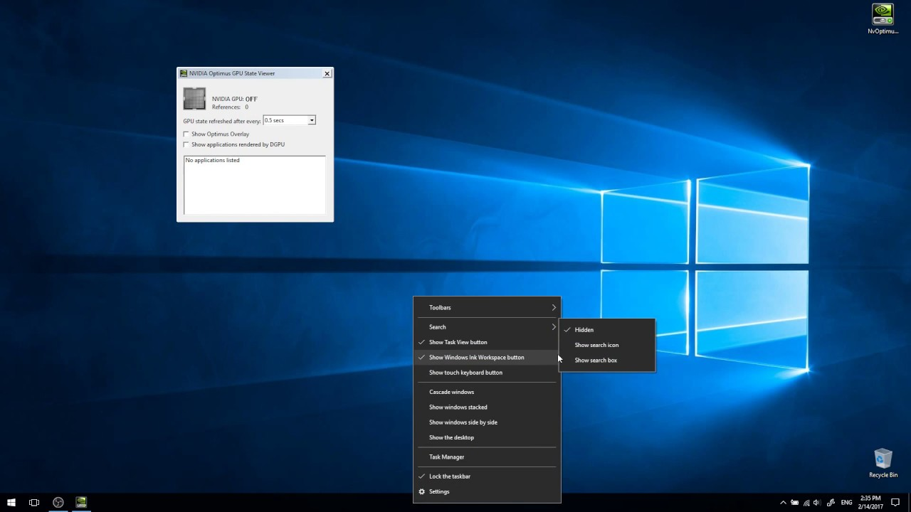 Windows 10 and NVIDIA Optimus issue — Freezing/Stuttering UI (read  description)