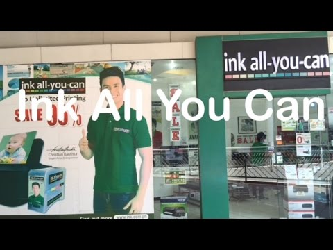 Ink All You Can Continuous Ink Supply System SM Mall of Asia by HourPhilippines.com