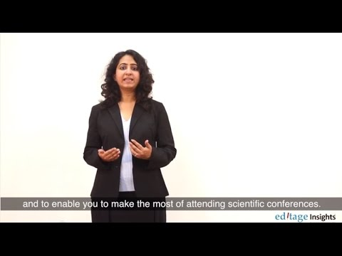 Why attend scientific conferences?