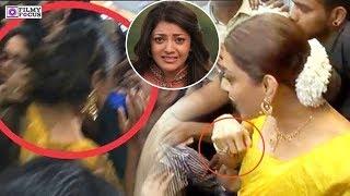 Download Video Kajal Agarwal Harassed By Fans Vulgar Behaviour | Kajal Agarwal | Chennai Shopping Mall MP3 3GP MP4