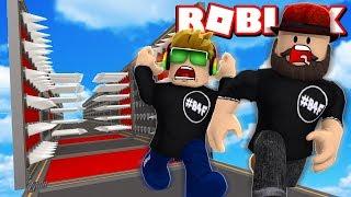 ROBLOX DEATHRUN CHALLENGE SON VS DAD!