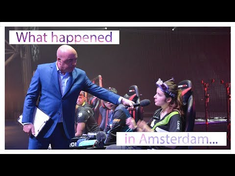 What happened in Amsterdam...