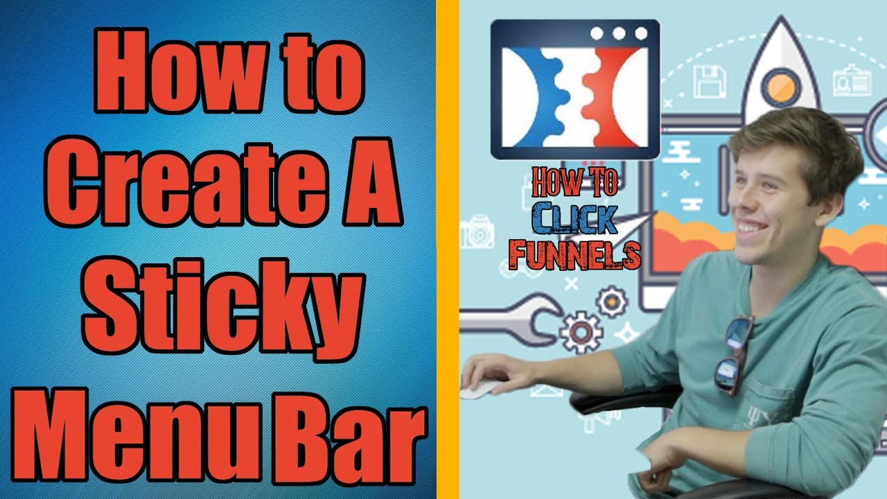 Free ClickFunnels Training - How to Build A Menu Bar In ClickFunnels That Sticks for Your Website