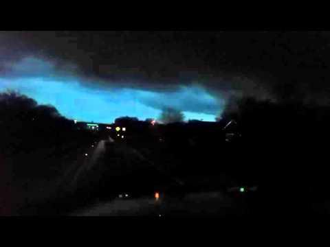 Tornado warned storm Maypearl, Tx