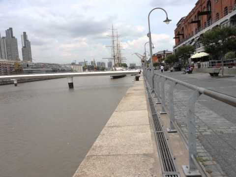 A Tour Of Puerto Madero In Buenos Aires Argentina 2011