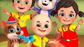 Tap Dancing Song | School Dance | +more nursery rhymes & kids songs - Jugnu Kids