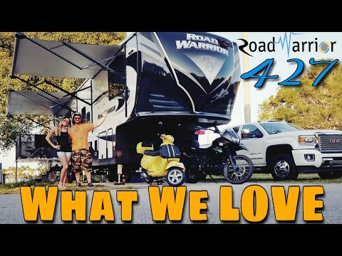 2017 Road Warrior 427 | What We LOVE | 5. Real Talk Road Warrior Life