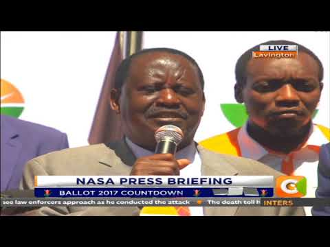Citizen News: We want 100% voter turnout in Nyanza like Uhuru wants in central: Raila Odinga