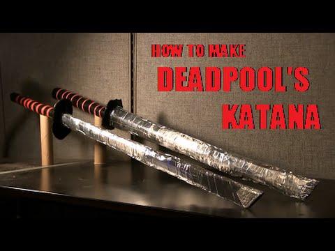 How to make Deadpool's Katana - YouTube