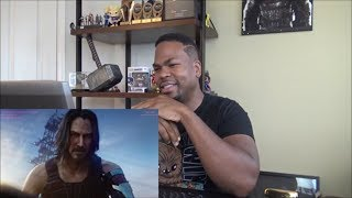 Cyberpunk 2077 — Official E3 2019 Cinematic Trailer - REACTION!!!