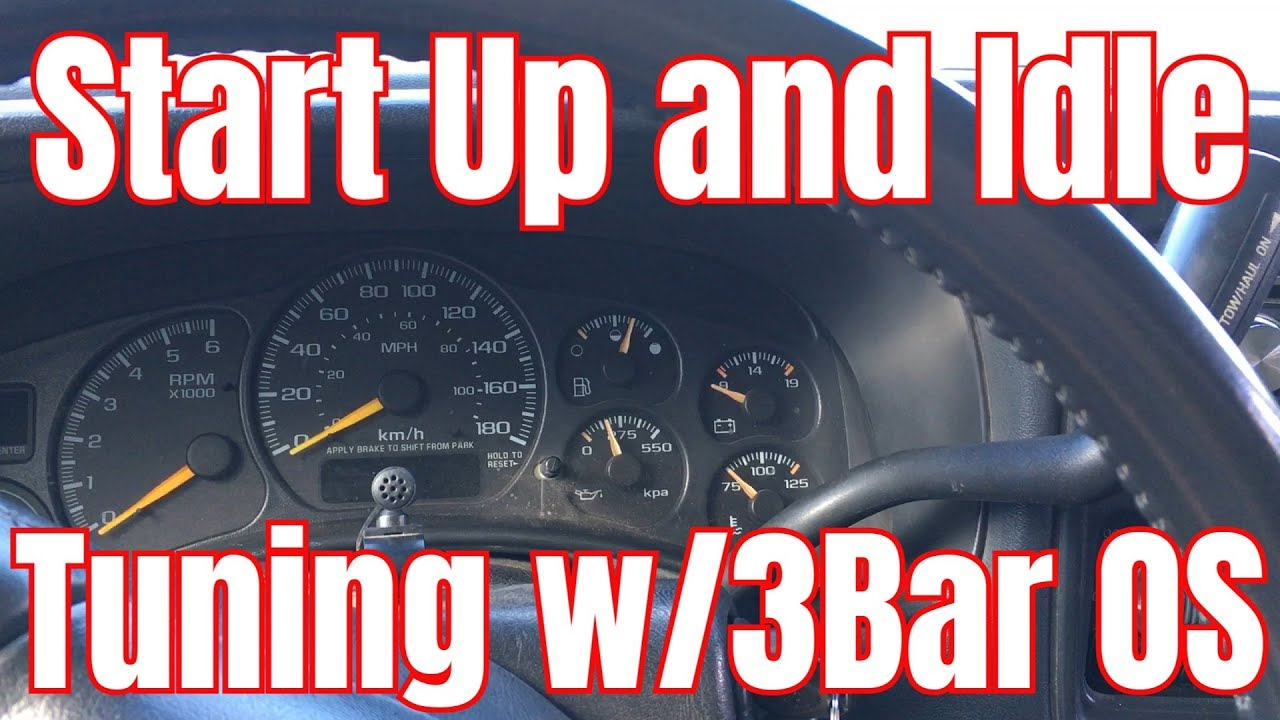 Lowbuck LS Turbo Truck Project - Initial Startup and Idle Tuning with HP  Tuners 3 Bar Enhanced OS