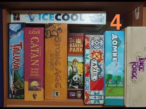 """[MyBoardGames-5] Моя коллекция настольных игр, часть 4: """"Семейные полки"""""""
