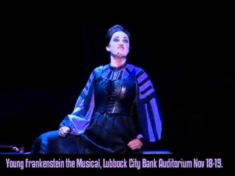 Young Frankenstein Tour Lubbock Nov 18-19, 2011- Frau Blucher
