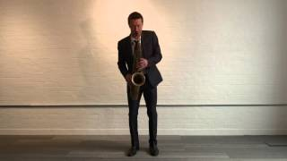 Julian Webster Greaves Sunny Side Sax Trax number 1