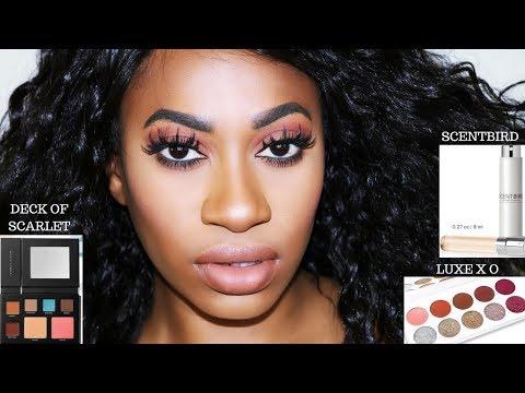 Beginner Friendly Makeup Tutorial - DECK OF SCARLET, LUXEXO & Scentbird