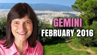GEMINI FEBRUARY 2016 Astrology Horoscope   Barbara Goldsmith