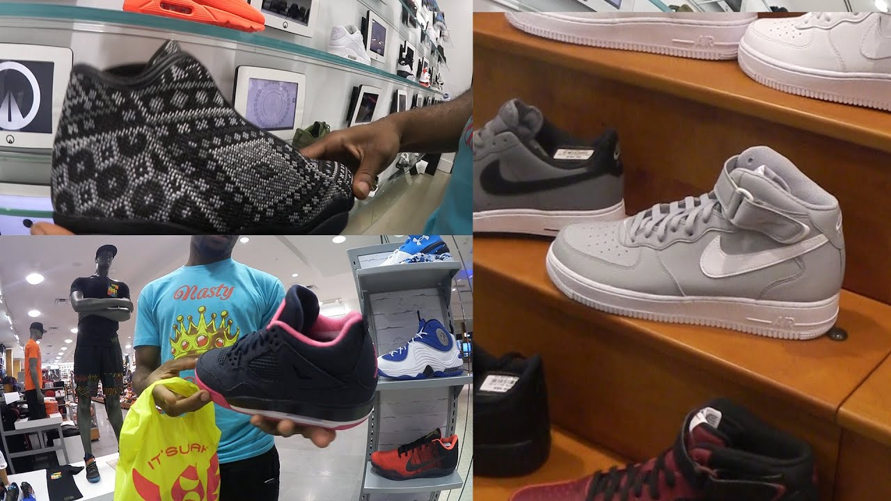 fff8af26eb9 Hypebeast EVERYWHERE ! Wheres The Heat In Miami  SneakerHead Shoe Vlog Ep.23