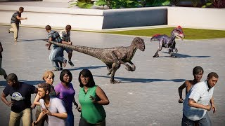 Velociraptor, Deinonychus, Dilophosaurus & Troodon Breakout! Jurassic World Evolution