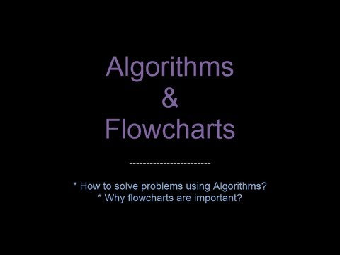C Programming 03 - Algorithms and Flowcharts