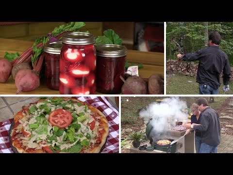 BLT Pizza, Shooting With His Teeth, And Pickled Beets & Eggs (Episode #325)