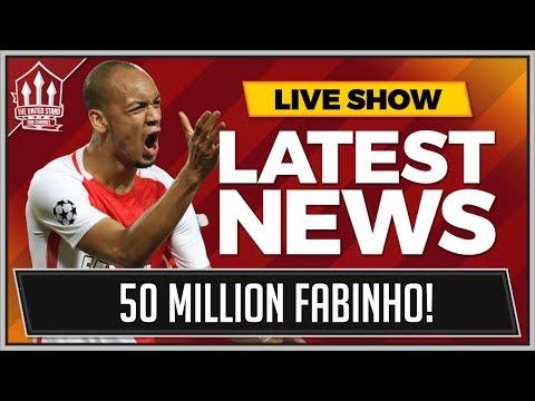 FABINHO 50 MILLION TO MAN UNITED! LATEST TRANSFER NEWS