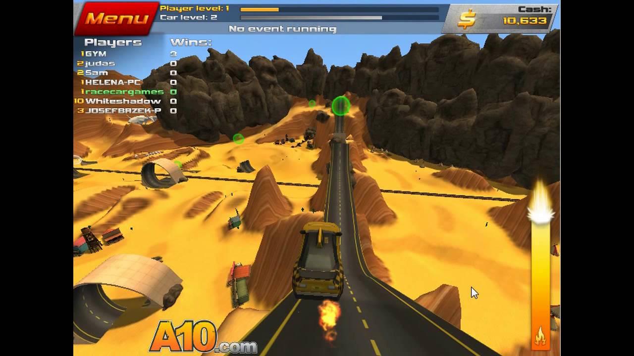 Crash Drive 2  Desert racing  - YouTube