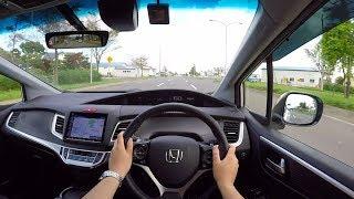 【Test Drive】 2018 New Honda JADE Hybrid RS Honda Sensing FF - POV City Drive