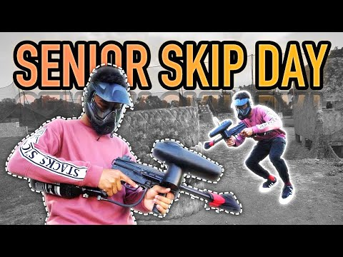 Skipping School To Go Paintball Shooting