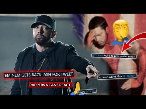 """Eminem Tweets """"Speak Up"""" and Catches Flak For Including Untouchable, Rappers And Fans React"""