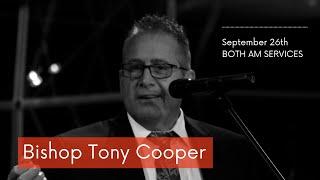 September 26th, 2021 | Guest Speaker, Bishop Tony Cooper