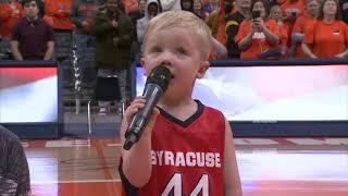 3-year-old National Anthem singer Drake Grillo