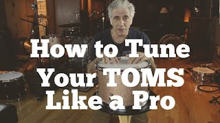 How To Tune Your Toms Like a Pro | Easy Drum Tuning Part 2 of 3