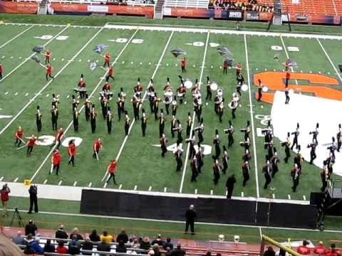 STAR TREK ^ BALDWINSVILLE MARCHING BAND Carrier Dome 2010