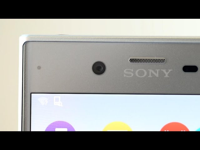 Up close with the Sony Xperia XZ's camera