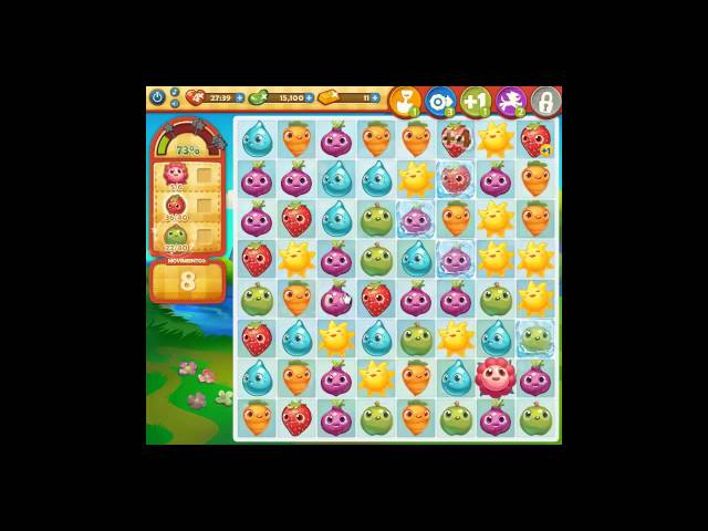 Farm Heroes Saga nivel 198.- Videos De Viajes