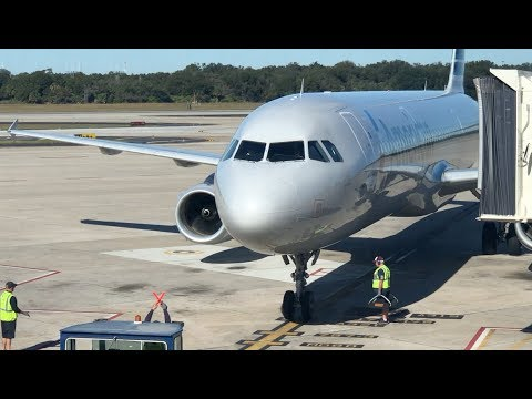 Worst Legacy Carrier In The United States?   American Airlines A321   Tampa To Charlotte   ECONOMY