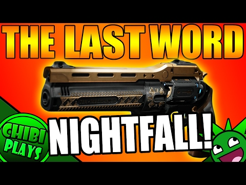 The Last Word ONLY Nightfall CHALLENGE!