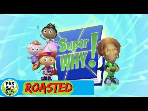 super why!: exposed (roasted)