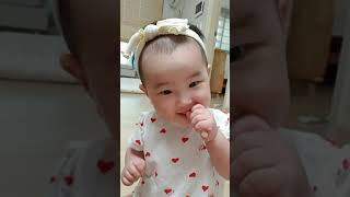 아기 과자먹방, 과자시…