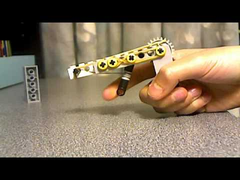REALLY COOL MINI LEGO GUN!!!!!!! - YouTube