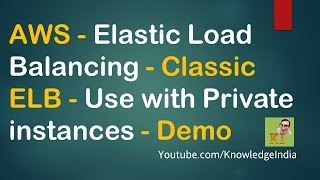 aws elastic load balancing classic elb use with private instances demo