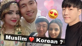 Muslim girls who married Korean guys
