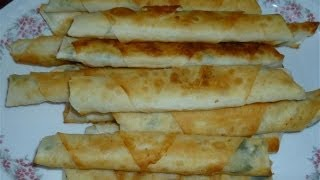 Zigaretten Börek-Türkische Rezepte-Sigara böregi
