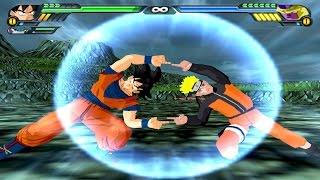 Goku and Naruto Fusion | Goruto vs Golden Frieza | DBZ Budokai Tenkaichi 3 (MOD)