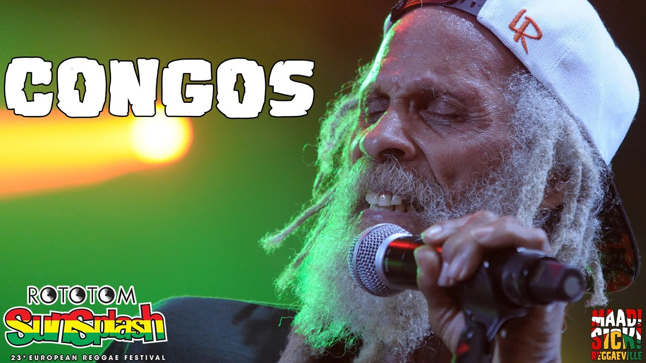 Resultado de imagen de The Congos - Live at Rototom Sunsplash 2016 (Full Concert)