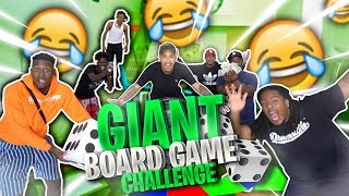 The MOST Epic GIANT Board Game Challenge!! Ft. Charc, Dub, Poudii, TyTheGuy, VonVonTV & T.O.